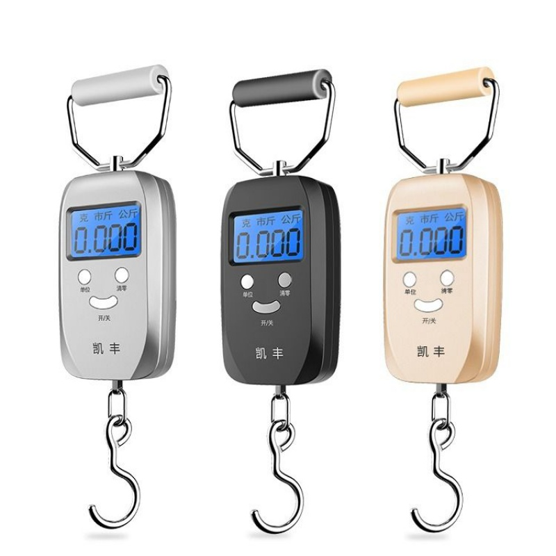 Portable electronic scale 50kg degree portable household express scale mini scale spring scale luggage scale
