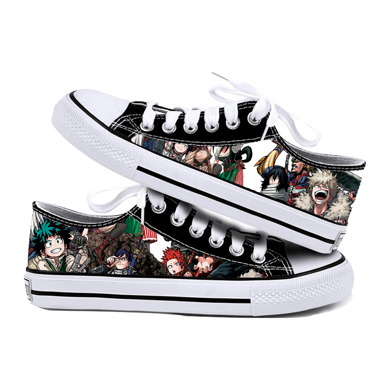Students low top printed shoes my little hero college sports shoes