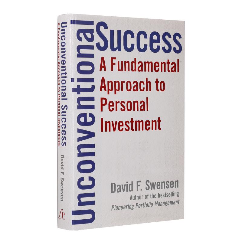 非传统的成功 英文原版 Unconventional Success A Fundamental Approach to Personal Investment 进口经管书 个人理财投资 精装