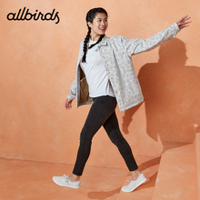 Allbirds Casual Boat Shoes Ladies Mesh Breathable Shoes Flat-soled Eucalyptus Shoes Tree Skippers