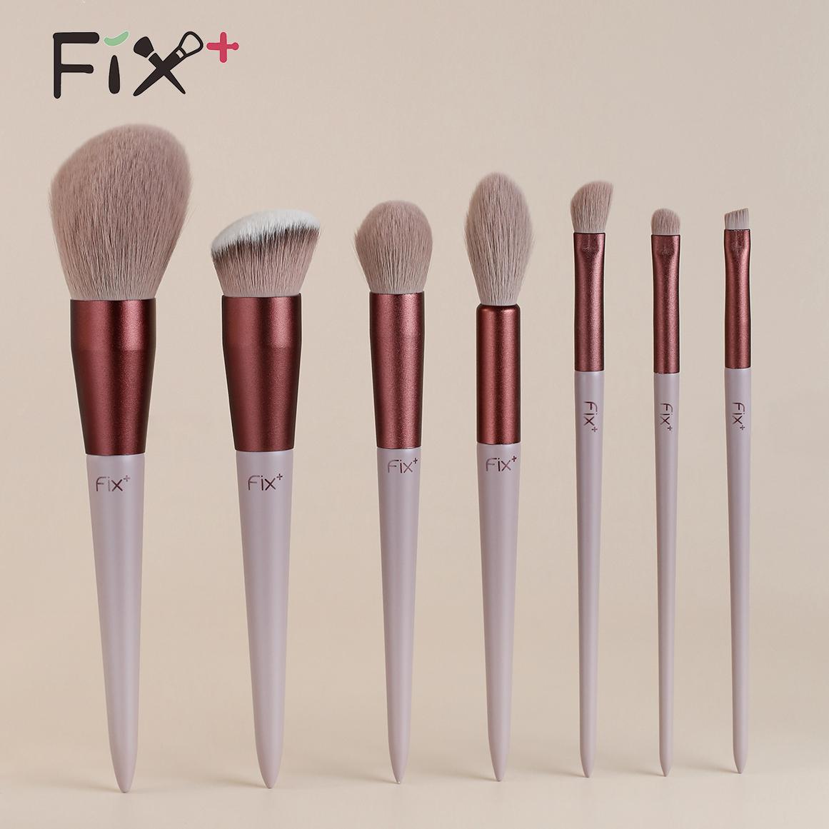 fix+菲丝加芬春日和美妆工具速干化妆刷套装散粉刷腮红眼鼻软刷