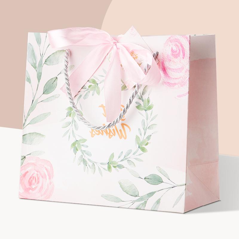 礼品袋礼盒包装盒教师节礼品袋子手提高档ins风网红生日礼物盒子