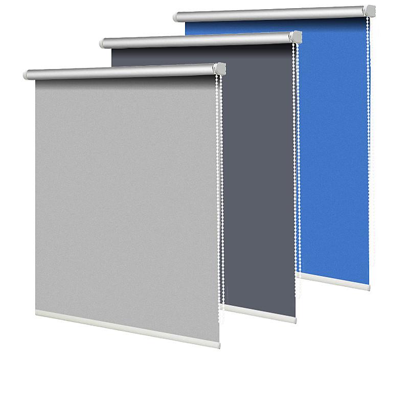 卷帘升降遮光隔热卧室卫生间拉帘质量如何