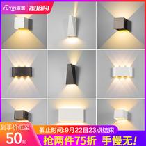 新中式壁灯卧室床头灯现代简约过道装饰背景灯墙壁灯中式壁灯客厅