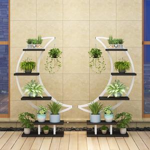 花架子室内落地式阳台装饰家用绿萝多肉吊兰多层创意置物架花盆架