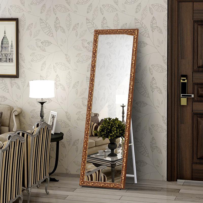 全身镜落地镜家用女卧室北欧简约网红ins风特价挂墙穿衣试衣镜子