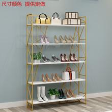 创意鞋店鞋架展示架服装店货架包包装饰品店铺置物架子多层落地式