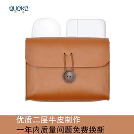 苹果MacBook戴尔华为笔记本电源线鼠标外设便携收纳包数据线耳机杂物包多功能移动硬盘保护皮套充电宝保护套图片