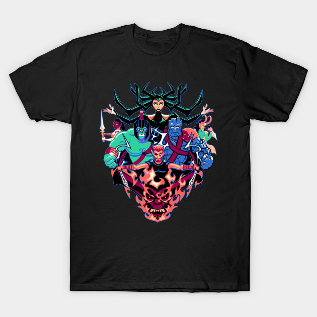 Ragnarjack Thor: Ragnarok short sleeve T-shirt for men and women