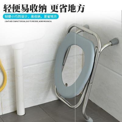 Toilet, urinal, portable stool, maternal toilet, toilet, postpartum bedpan, high quality rural cover plate, hemiplegia and folding