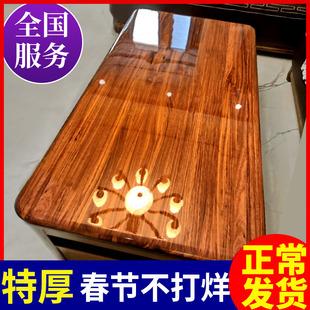 家具贴膜高档厨房大理石玻璃茶几实木餐桌面耐高温自粘透明保护膜品牌