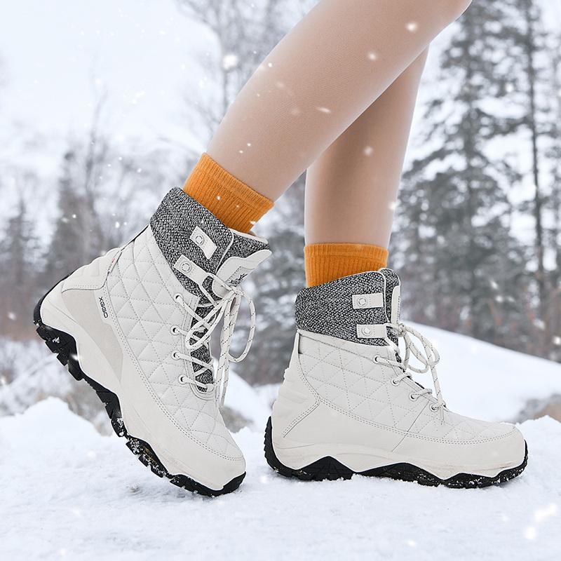 东北雪地靴棉鞋加绒男士保暖防水防滑加厚户外2020新款秋冬季高帮