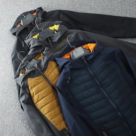 大牛货啊!重磅狠货!出老美单男士户外运动秋冬休闲棉衣夹克外套图片