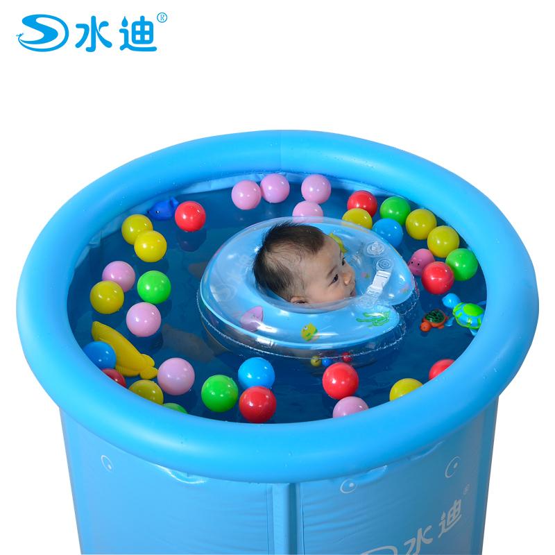 热销0件不包邮泳池宝宝新生儿大号保温婴儿游泳桶支架小号婴幼儿童游