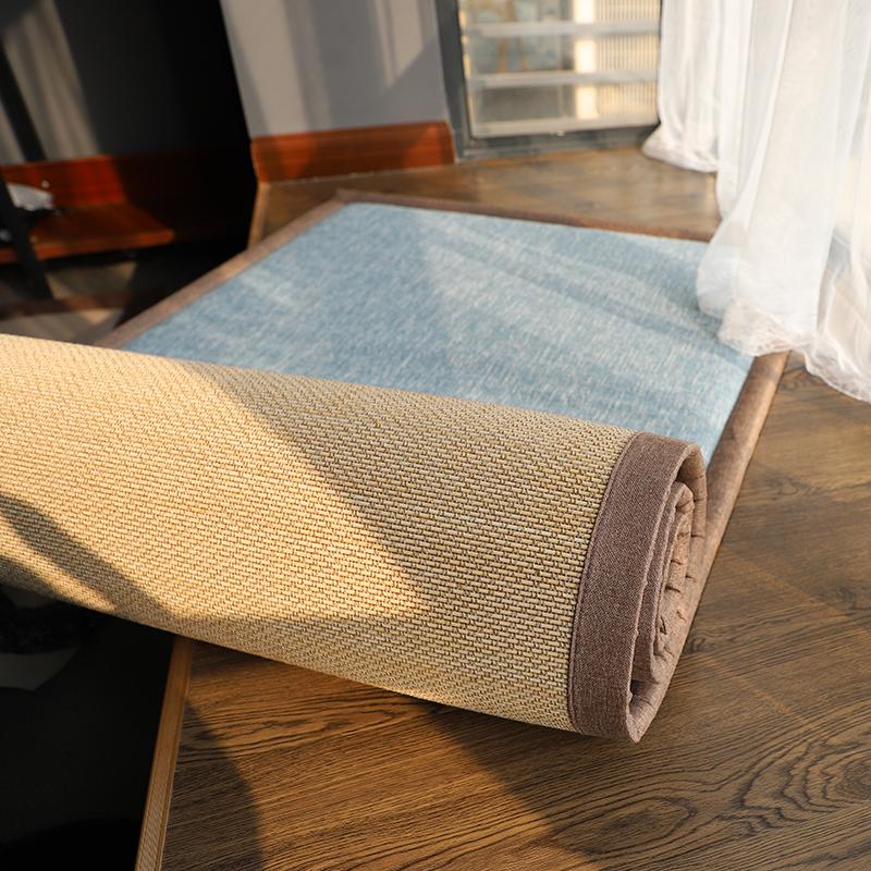 双面飘窗垫窗台垫毯四季通用定做日式榻榻米垫卧室阳台垫子可拆洗