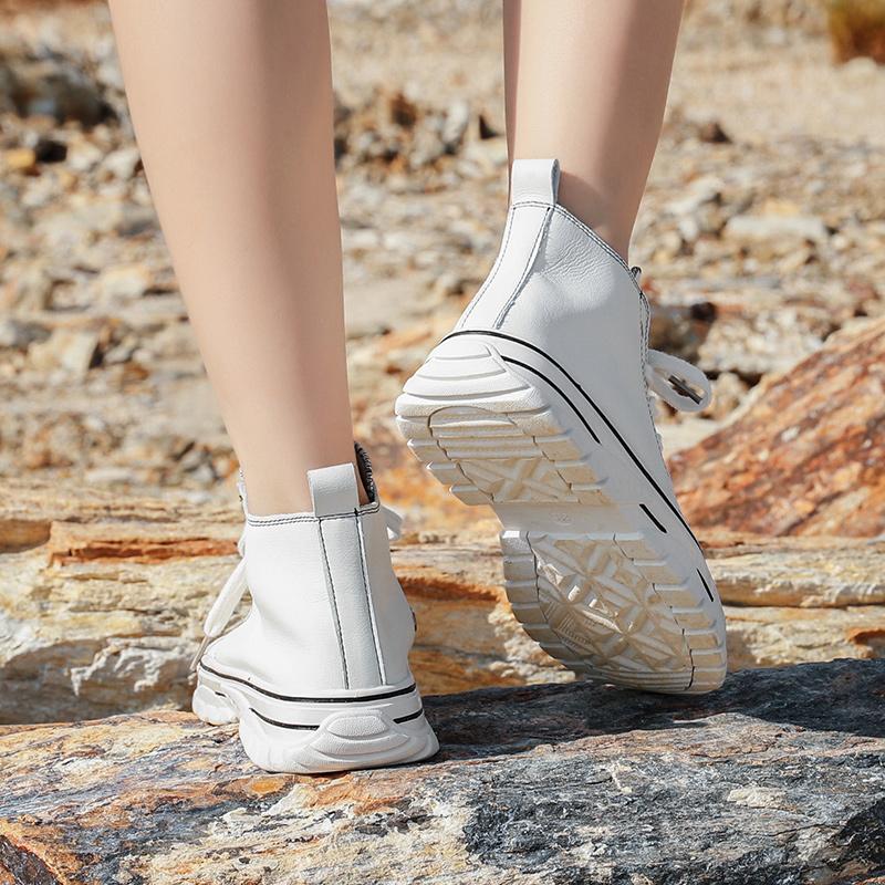 森弗女鞋板鞋2019冬季运动鞋秋季休闲鞋情侣款小白鞋子ins潮百搭