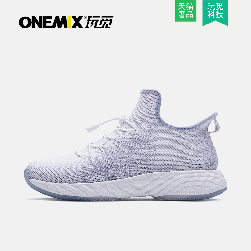 Onemix looking for 2021 mens shoes fashion casual shoes lightweight breathable versatile high top shoes all over the sky star tide shoes