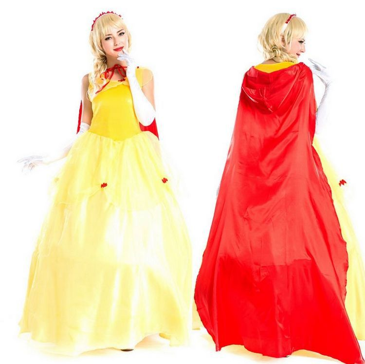 Halloween Costume Snow White Cinderella cosplay