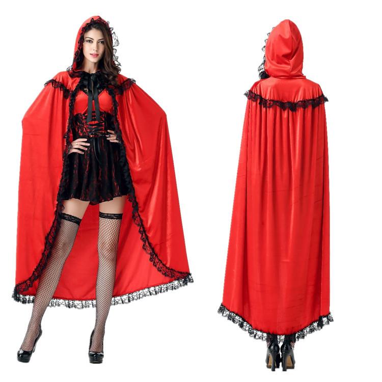 アニメの赤ずきんコスプレ白雪姫スカートショーの衣装ハロウィンの女性
