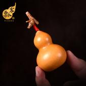 天然文玩葫芦小葫芦手捻葫芦手把件草里金老葫芦美国胖墩包浆摆件