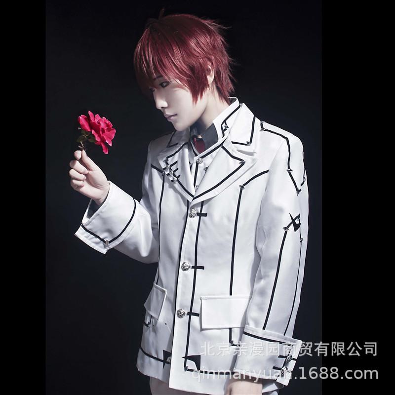 Vampire Knight jiulanshu cos uniform exhibition Cosplay clothing spot mens white