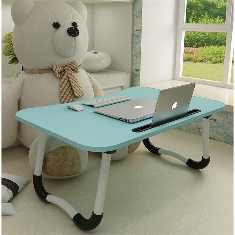放床上用的小桌子简单宿舍桌电脑做可折叠塑料便携迷你简便收缩