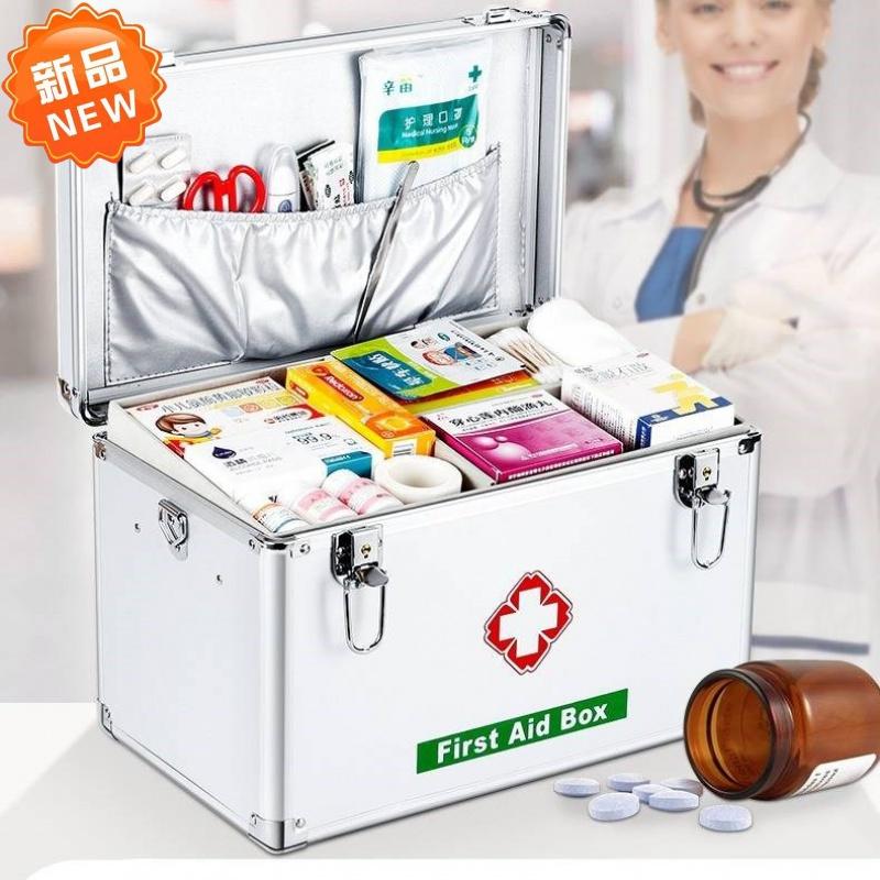 医药保健室。急救箱家用医疗箱空箱北欧出门用品加厚储存幼儿园