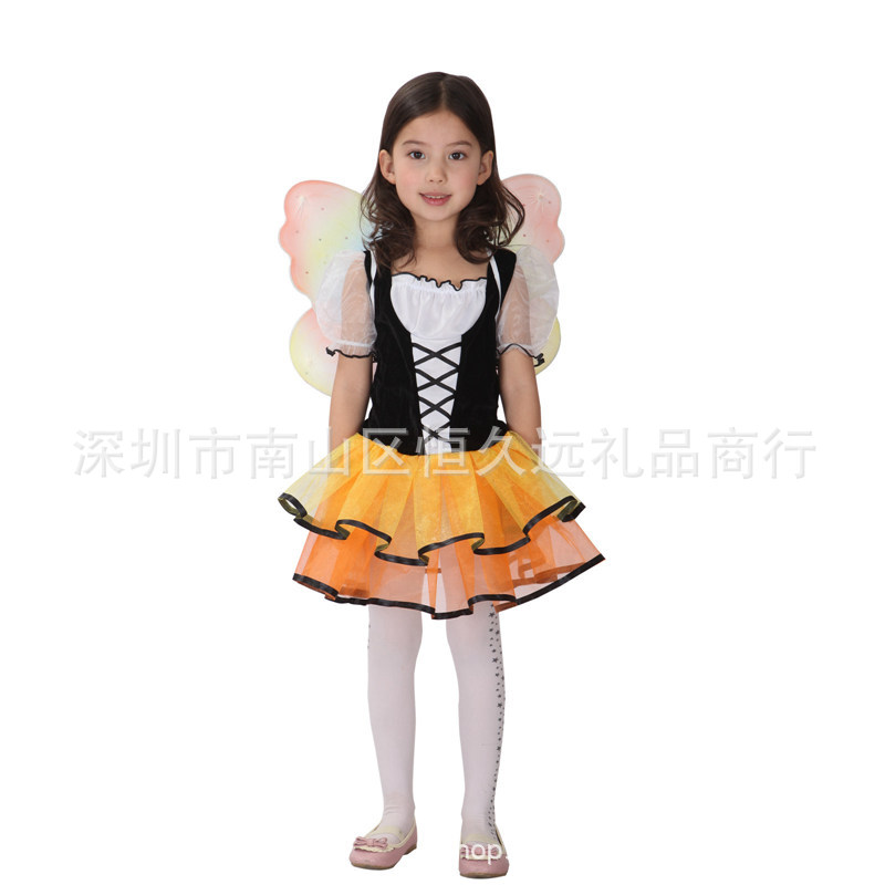 Costume butterfly Princess Costume role play costume childrens day of June 1