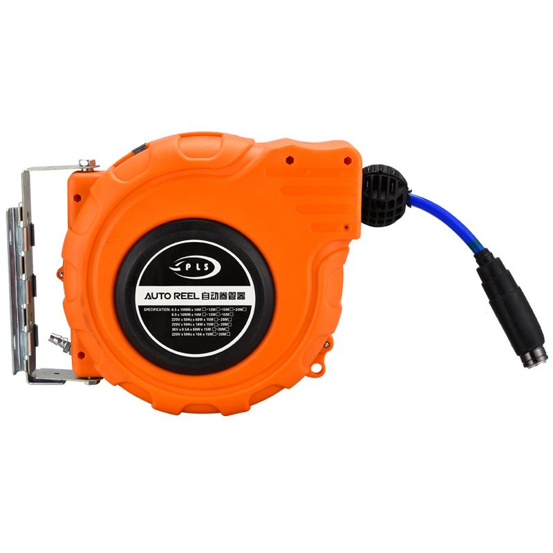 卷线器绕管器水鼓电鼓米自动气管收管器气鼓自动伸缩卷管器20