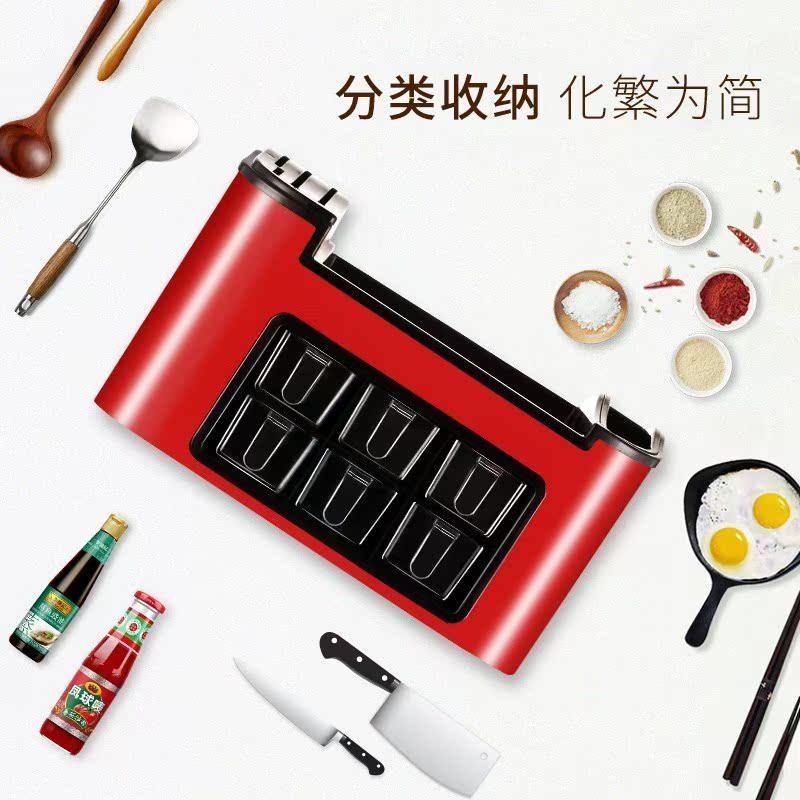 糖罐厨房餐饮调置物架配料用具创意盐罐欧式层架调味料收纳盒转角