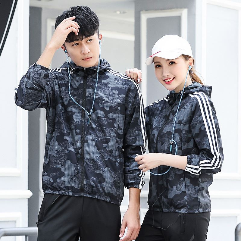 Breathable best selling sportswear mens and womens jackets hot light Book Outdoor quick dry casual summer hooded top lovers