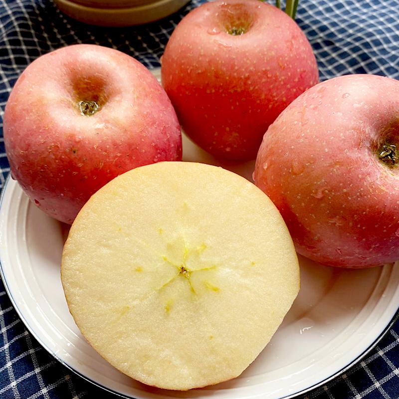 莓时莓刻山东烟台富士苹果新鲜水果苹果红富士苹果烟台红富士苹果