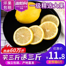 新鲜黄柠檬6斤装