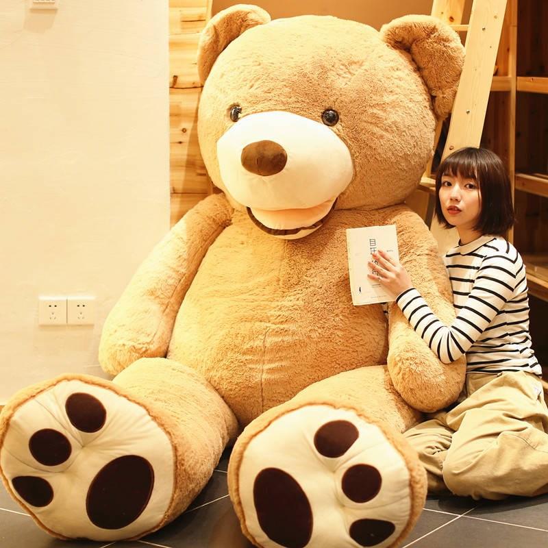 满281.60元可用135.17元优惠券泰迪熊猫公仔玩偶布娃娃女孩毛绒玩具抱抱熊大熊圣诞节礼物女生