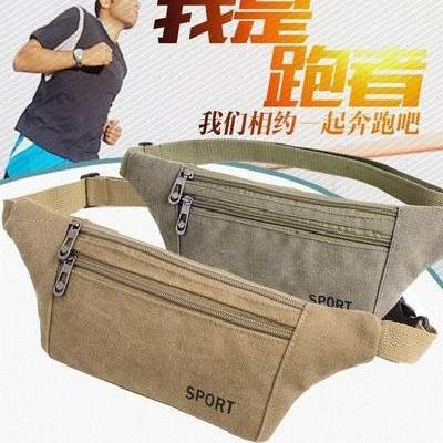 2018 sports small chest bag, summer mens Mini Backpack, multi small shoulder bag, single function canvas waist