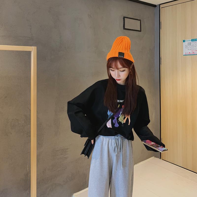 菡薇妮秋季新款韩版宽松bf慵懒卫衣11月01日最新优惠