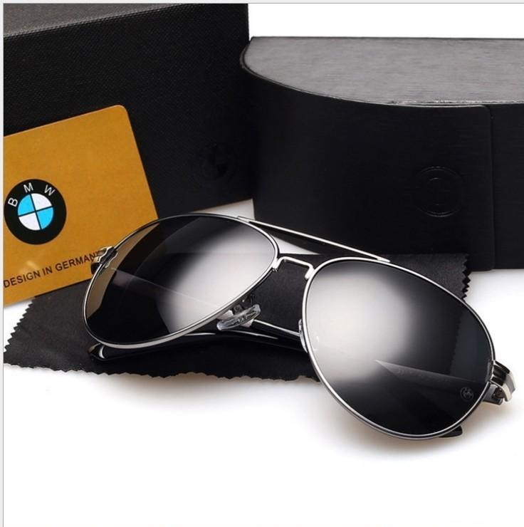 BMW Sunglasses 2020 new car polarized glasses 4S shop gift sun shading driving glasses BMW Sunglasses