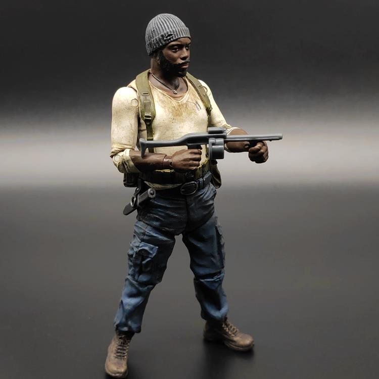 Walking dead biochemical crisis hammer God hammer brother crossbow male bulk cargo zombie 5-inch doll hand model McFarlane D
