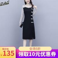 旗袍改良版女秋装2020年新款连衣裙