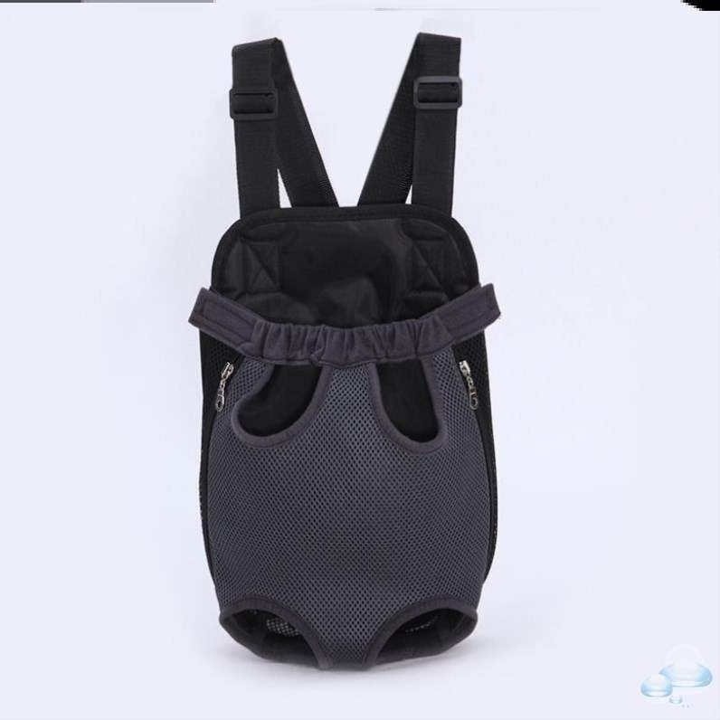 Portable travel medium travel backpack Teddy chest pet backpack go out backpack cat mesh