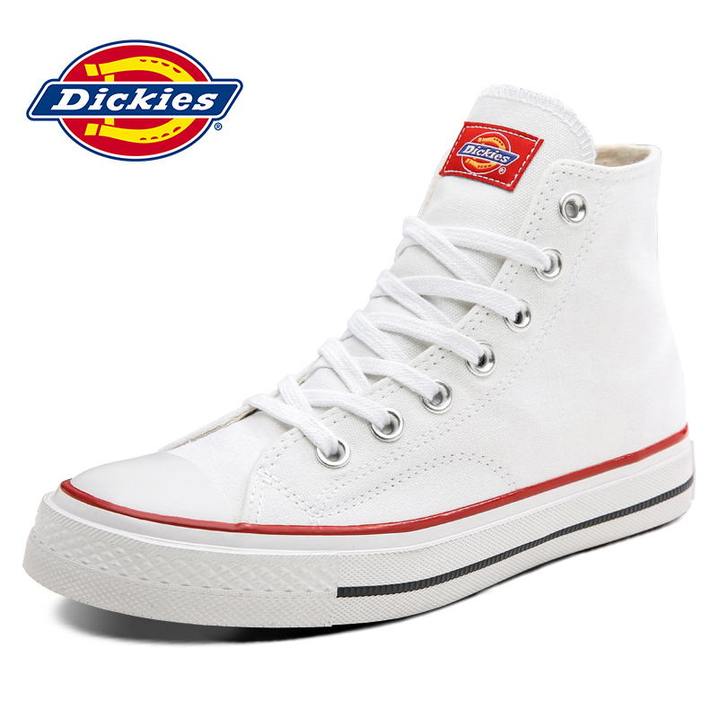 Dickies women's shoes 2020 new spring high top canvas shoes women's Korean version small white shoes versatile couple student shoes
