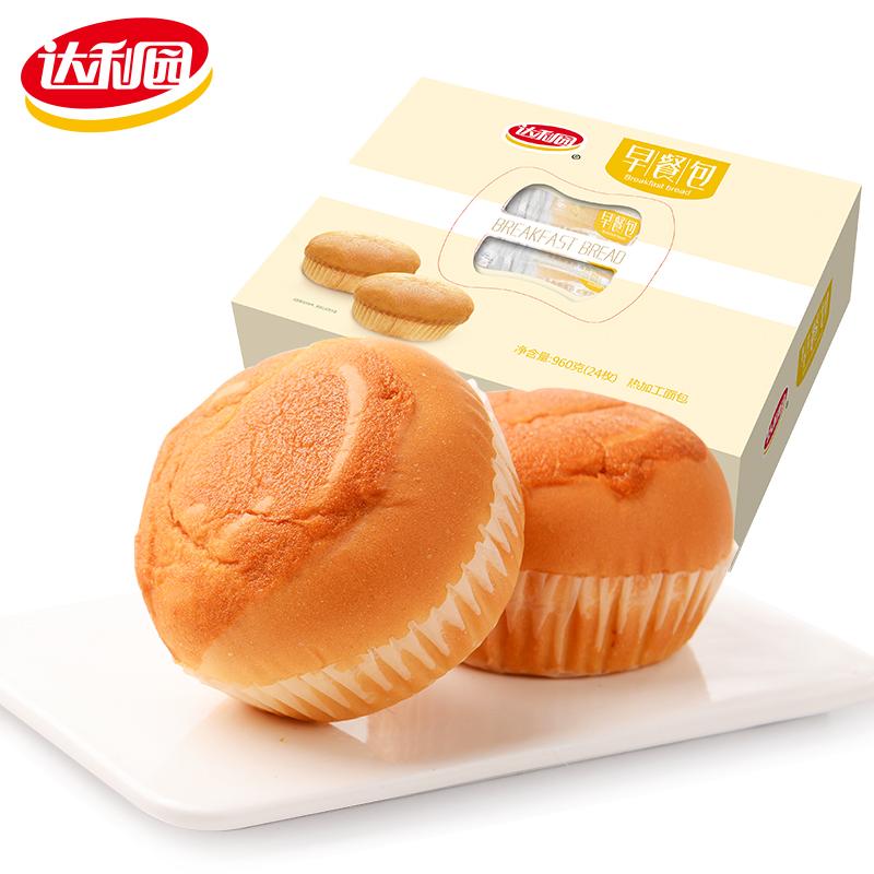 达利园早餐包营养学生儿童糕点食品早点手撕面包整箱零食礼盒装(非品牌)