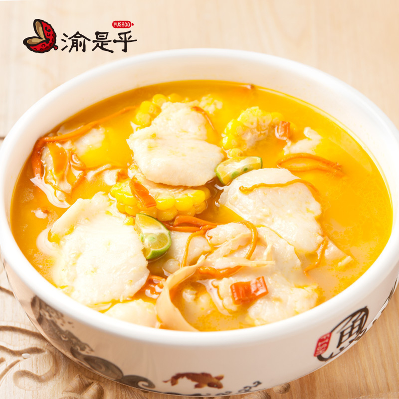 Yushi golden soup fish seasoning package sour soup fish sour soup fat beef sour hot rice noodles hot pot bottom material