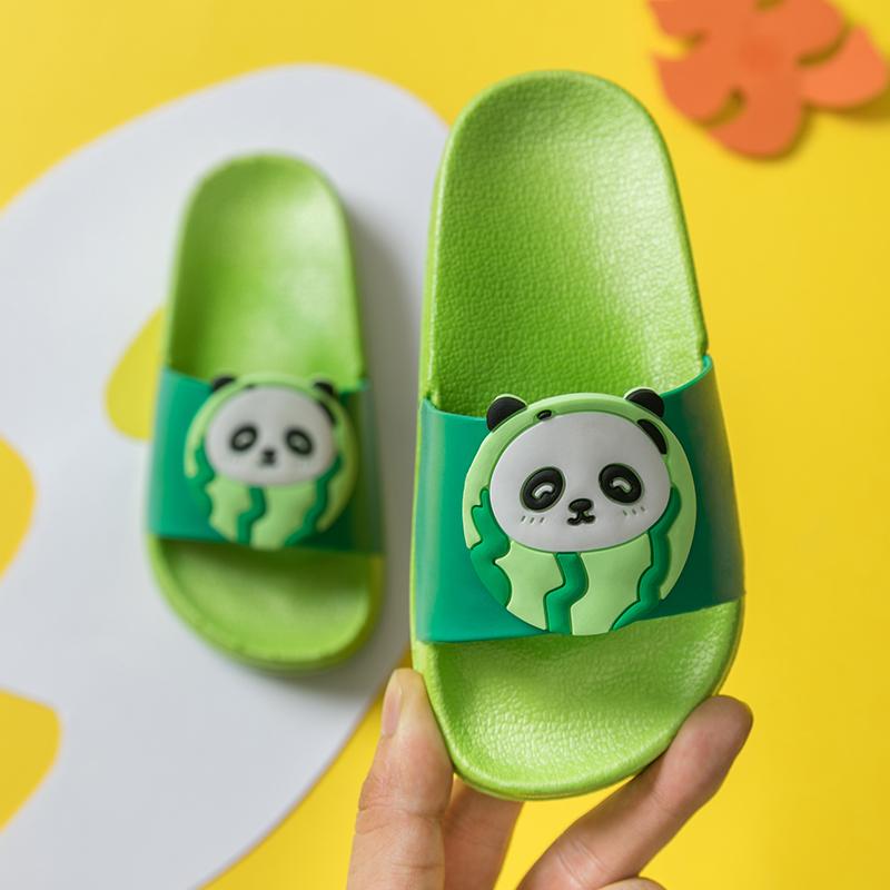 儿童拖鞋夏季可爱男童防滑软底室内居家中大童室内女童宝宝凉拖鞋(用1元券)