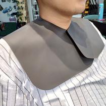 理发店专用剪发肩垫不沾发硅胶披肩高档防碎发围脖发型师专业垫肩