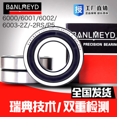 瑞典BMD进口深沟球不锈钢轴承S6403 S6404 S6407 S6408