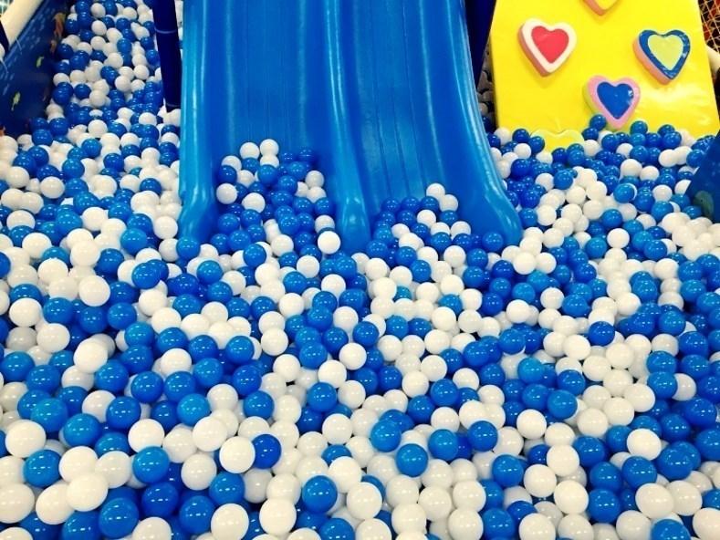 新品小型球球池海洋球游乐园游乐场室内儿童球幼儿园儿童脚踩式家11-06新券