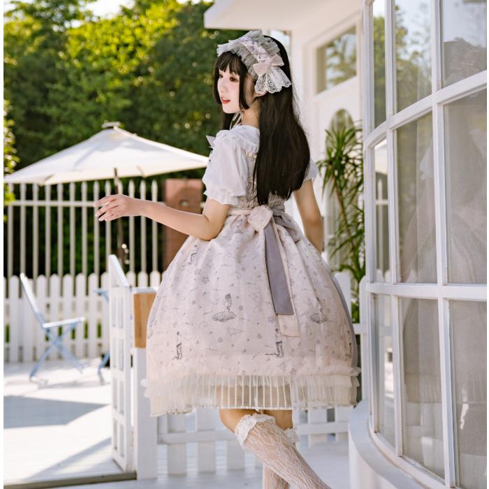 【樱若离】维纳如斯原创闺蜜lolita情侣洛丽塔小裙子尾款(用1元券)