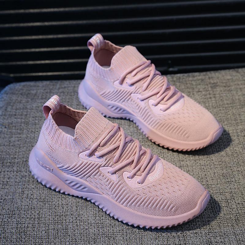 运动鞋女学生韩版透气休闲鞋百搭球鞋夏秋季女鞋新款跑步鞋旅游鞋