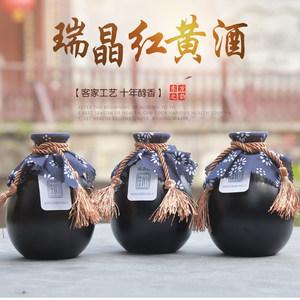 十年客家500ml瓶装糯米酒绍兴工艺